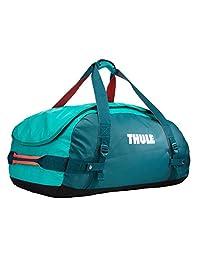 Thule Chasm 70L bolsa de lona Azul, Turquesa Nylon, Elastómero termoplástico (TPE) - Bolsas de lona (Azul, Turquesa, 70 L, Nylon, Elastómero termoplástico (TPE), Monótono, Bolsillo de malla, Bolsillo lateral)
