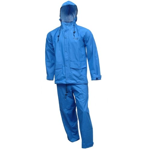 Tingley Rubber S66211 R.B. Storm Champ 2-Piece Rain Suit, X-Large, Blue