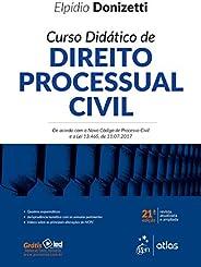 Curso Didático de Direito Processual Civil - De acordo com o Novo Código de Processo Civil e a Lei 13.465, de