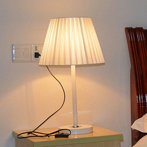 Muidege Lámpara De Tela Dormitorio Lámparas Led Lámpara De ...