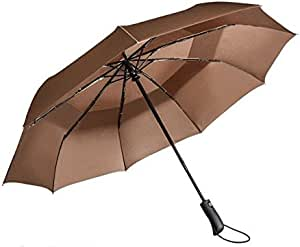 VANWALK Travel Umbrella Double Canopy Vented Windproof Automatic Rain Umbrella