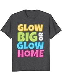 Glow Party Crew Birthday Tee