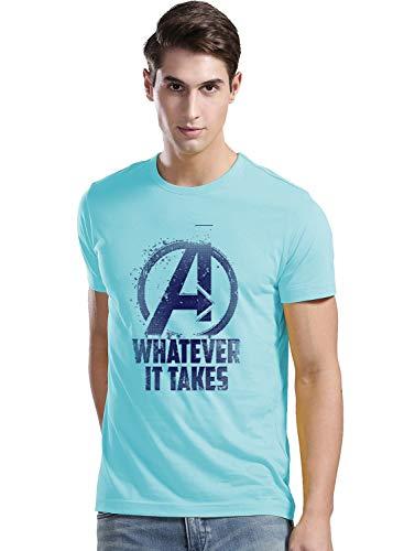ADRO Men's Regular Fit T-Shirt (RNR-M-WHA-MI-S_Mint_Small) (B083V1KFCS) Amazon Price History, Amazon Price Tracker