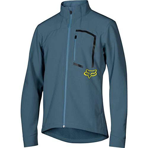 Fox Racing Attack Fire Softshell Jacket - Men's Blue Slate, XL ()