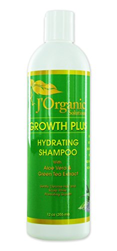 Growth-Plus Strengthening Hydrating Shampoo (for all hair type) with Aloe Vera & Green Tea Extract