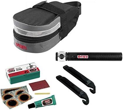 bolsa para sillín + Kit reparación para bicicleta MTB / Strada + ...
