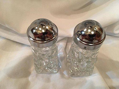 Anchor Hocking EAPC Star of David Salt Pepper Shaker Set (4