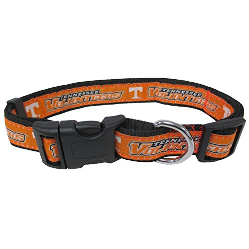 University of Tennessee Nylon Adjustable Dog Collar (small (8