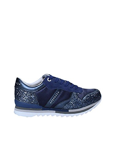 Blu Suede Apepazza Tessuto Sneaker E Scarpe MOD DS18AP03 CIRPIA Col Glitter Donna Domitille WcxUH7nUr