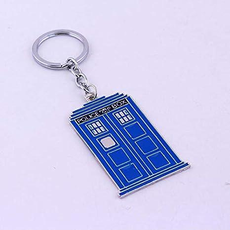 Llavero Dr Doctor Who Tardis Flat Keychain Llavero Azul ...
