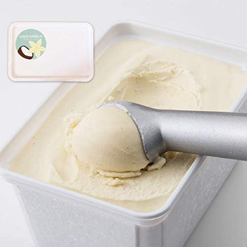 Soy GeLA! COCO VANILLA 1L 2個 業務用 オーガニック 低カロリー 豆乳ジェラート ビーガン バニラ