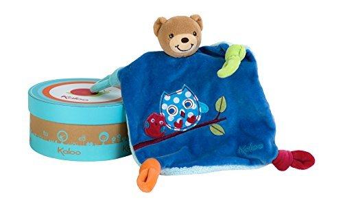 Kaloo Colors Doudou Bear Soft Toy (Good Night Owl) by Kaloo (Doudou Soft Toy)