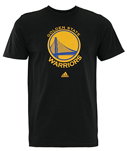 adidas Golden State Warriors Black Primary Logo T-Shirt Medium