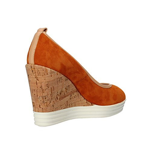 AH702 35 Woman Suede Brown Hogan Wedges Light Courts 5 EU Rebel xAw1SqP70