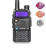 BaoFeng Radio UV-5R MK2 5W 1800 mAh Li-ion Battery Mirkit Edition and Lanyard Mirkit Ham Radio Operator | Walkie Talkies Dual Band Ham Two Way Radios USA Warranty