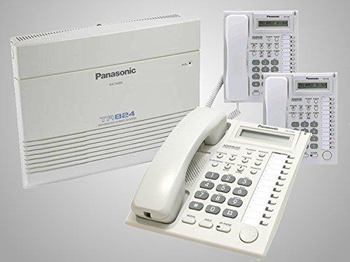 - Panasonic KX-TA824 & 3 KX-T7730 Phones White