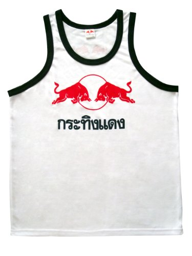 Beautiful Red Bull Vest Tank Top Cotton