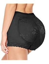 LANFEI Women's Butt Lifter Panties Padded Butt Enhancer Control Underwear