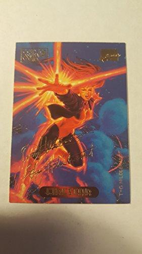 Firestar Series - Marvel Masterpieces - Gold Foil Signature Series - Firestar #38