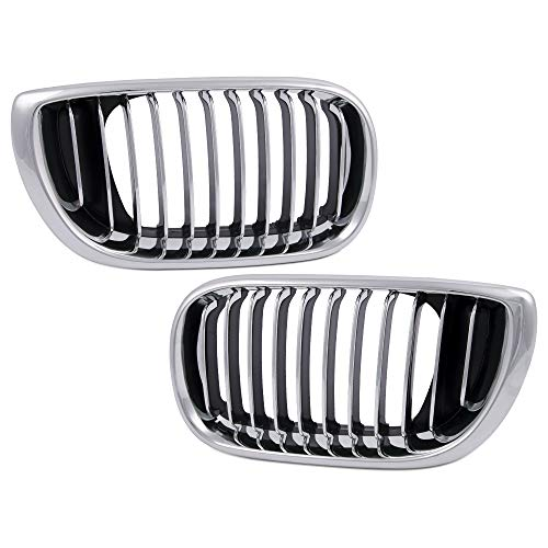 New For BMW 3 Series E46 4 Door 02-05 Front Hood Kidney Sport Grilles Grill Replacement