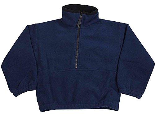 1/2 Zip Navy Fleece - 3