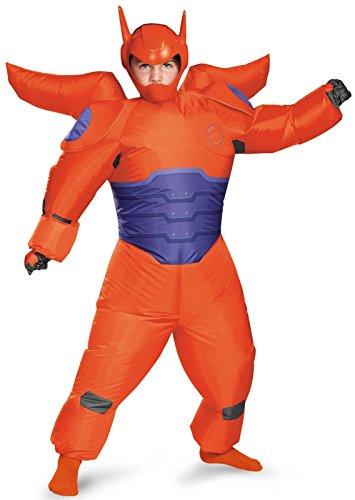 [Disguise Red Baymax Inflatable Costume, Child] (Disney Group Costumes Ideas)