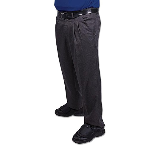 Champro The Field Combo Baseball/Softball Umpire Pant Gray, - With Baseball Elastic No Pants