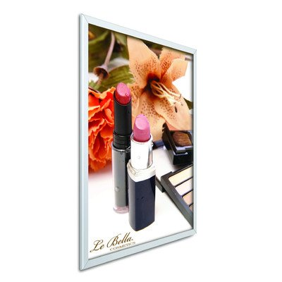 Easy Open SnapFrames Color: Satin Silver, Size: 24'' x 36'' by Testrite