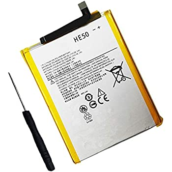 Amazon com: Civhomy Replacement HE50 4850mAh Battery for Motorola