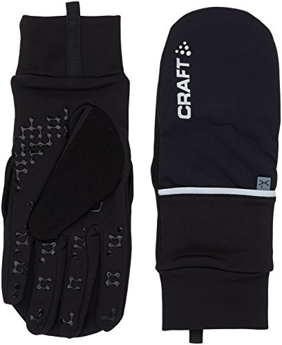 Craft Performance Bike (Craft Hybrid Weather 2-in-1 Bike Glove , Black, XX-Large)