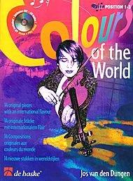 - De Haske Music Colours of the World (Violin) De Haske Play-Along Book Series