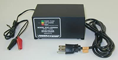 Powersonic PSC-122000A Sealed Lead Acid Battery Charger - Automatic Switchover 12 volt/2 Amp Nominal