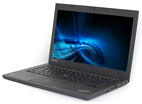 Lenovo Thinkpad T440 Ultrabook 14in HD LED-backlit High Performance Business Notebook, Intel Core i5-4300U up to 2.9GHz, 8GB RAM, 128GB SSD, USB 3.0, Windows 10 Professional (Renewed)