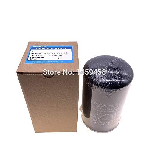 Fevas 2pcs/lot OEM Fuel Oil Filter Element 3743808900 for Airman Portable air Compressor Filters Parts