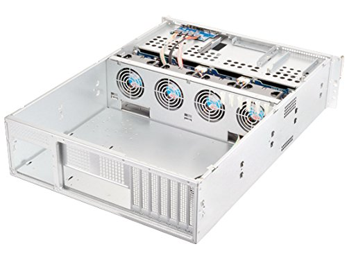 Silverstone Tek 3U 16-Bay 3.5-Inch Hot-Swap Rackmount Storage Server Chassis Cases RM316