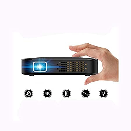 Mini proyector portátil Batería integrada Botón de operación del ...