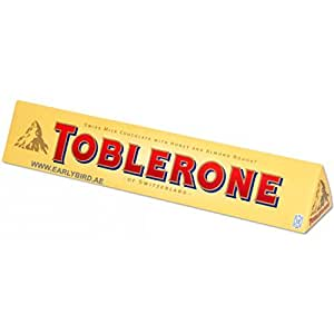 Toblerone Swiss Milk Chocolate With Honey And Almond Nougat Price