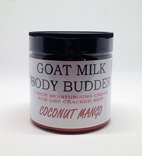 Lotion Coconut Body Mango - Bates Family Farm Goat Milk Body B'udder (Coconut Mango Frangrance)