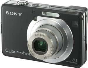 Amazon Com Sony Cybershot Dsc W100 8 1mp Digital Camera