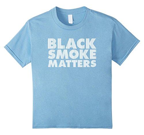 Kids Black Smoke Matters Diesel T-shirt 8 Baby (Diesel Baby Girl)