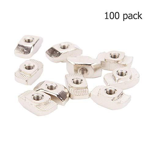 IZTOSS 100PCS Post Assembly M5 T Nut for 3030 Aluminum Profile