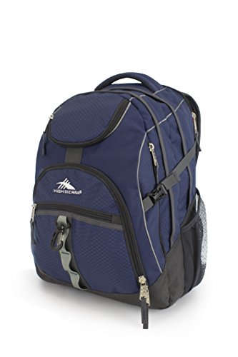 High Sierra Access Laptop Backpack, True Navy/Mercury