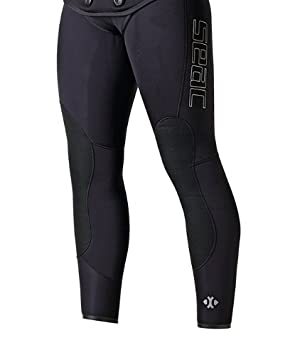 Seac Traje de Caza Python Plus Negro Trouser 5 mm. Negro Negro Talla:Talla XXXL: Amazon.es: Deportes y aire libre