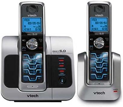 Vtech 6041 DECT 6.0 Dual teléfono teléfono inalámbrico sistema: Amazon.es: Electrónica