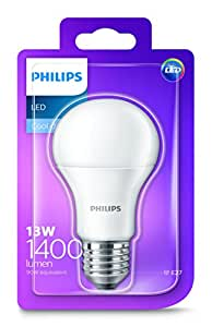 Philips LED Light Bulb (E27 Edison Screw 13.0W A60) - Cool White