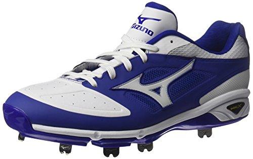 Mizuno Männer dominierender IC Baseball-Schuh Königliches Weiß