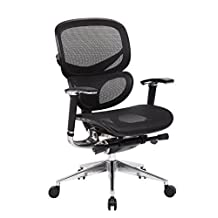 Multi-Function Ergonomic Mesh Chair Comfort Highly Adjustabl Desk Task Office Chair with Synchro mechanism Control