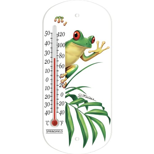 Springfield 90731 Frog Tube Thermometer