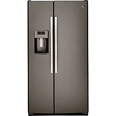 GE GSS25GMHES 25.4 Cu. Ft. Slate Side-By-Side Refrigerator