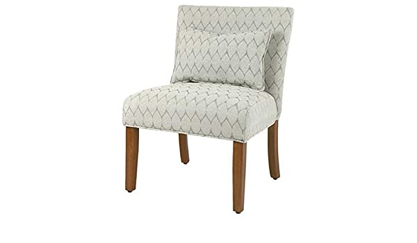 Amazon.com: Hebel Parker Cream Accent Chair with Pillow | Model CCNTCHR - 233 |: Kitchen & Dining